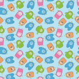 Monster pattern 1 Stock Photography