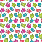 Monster pattern 3 Royalty Free Stock Photography