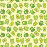 Monster pattern 2 Stock Photos
