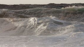 Monster Pipeline storm surf set Royalty Free Stock Images