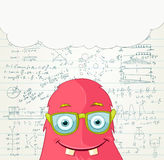 Monster Professor. Stock Images