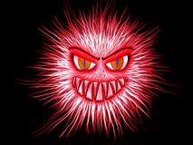 Monster, Red, Eyes, Aggressive Stock Photos