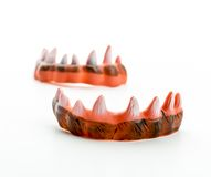 Monster's ugly sharp teeth Royalty Free Stock Photo
