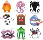 Monster set Stock Photo