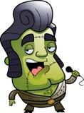 Monster Singer Royalty Free Stock Images