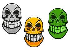 Monster skull Royalty Free Stock Photography