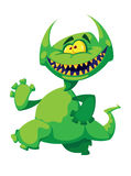 Monster smile Royalty Free Stock Image