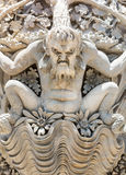 Monster stucco statue Royalty Free Stock Image