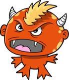 Monster-Teufel-vektorabbildung Lizenzfreies Stockbild