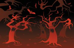 Monster tree Stock Images