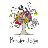 Monster tree Royalty Free Stock Photos