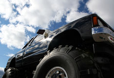 Monster truck. A black Monster truck stock photos