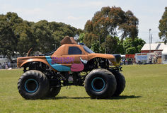 Monster Truck. Monster Truck Scooby-doo came out from the USA to perform at the Royal Geelong Show. The Show is now been running for 155 years Royalty Free Stock Photos