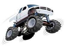Monster truck ilustração stock