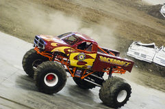 Monster Truck. Event at the Olympic Stadium of Montreal April 22, 2006 stock photography