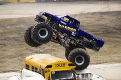 Monster Truck. Event at the Olympic Stadium of Montreal April 22, 2006 Royalty Free Stock Photos
