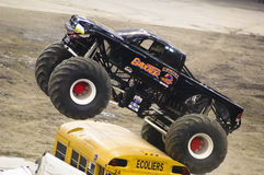 Monster Truck. Event at the Olympic Stadium of Montreal April 22, 2006 stock image