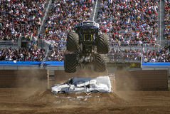 Monster Truck Air 2 Stock Photo