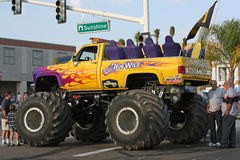 Monster truck called Hog Wild Royalty Free Stock Photography