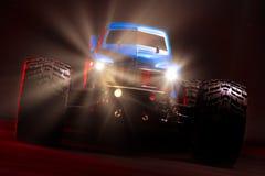 Monster truck controlado de radio azul foto de archivo