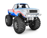 Monster Truck. Royalty Free Stock Photo
