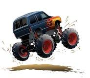Monster truck de la historieta Fotos de archivo libres de regalías