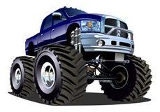 Monster truck de la historieta Imagen de archivo