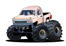Monster truck dos desenhos animados Fotos de Stock Royalty Free