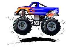 Monster truck dos desenhos animados Imagem de Stock
