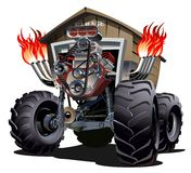 Monster truck dos desenhos animados Foto de Stock