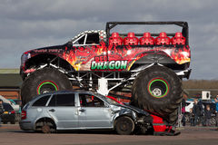 Monster truck entertainment Royalty Free Stock Photos