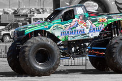 Monster Truck Martial law Royalty Free Stock Images