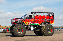 Monster truck rides Royalty Free Stock Photos