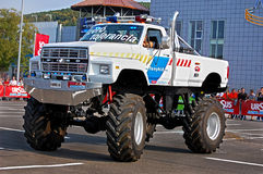 Monster Truck Showdown 01. Ursus Alcohol Free Track Challenge - Cluj Napoca 26.09.2009 Royalty Free Stock Image
