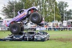 Monster Truck Slingshot at Truckfest Norwich UK 2017 Stock Photos