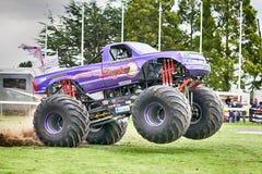 Monster Truck Slingshot at Truckfest Norwich UK 2017 Stock Image