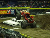 Monster Trucks Stock Photo