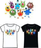 Monster tshirt Royalty Free Stock Photos