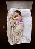 Monster Under The Bed Royalty Free Stock Images