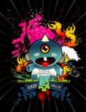 Monster vector composition Stock Photos