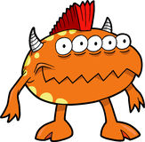 Monster Vector Illustration Royalty Free Stock Photography