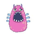 Monster. Vector illustration. Cute cartoon monster Royalty Free Stock Photos