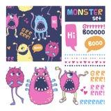 Monster vector set. Stock Images