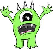 Monster-vektorabbildung Lizenzfreie Stockbilder