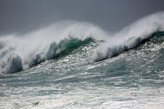 Monster wave Stock Photography