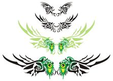 Monster wings Stock Photography