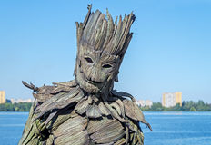 Monster wooden Royalty Free Stock Image