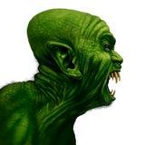 Monster Zijaanzicht vector illustratie
