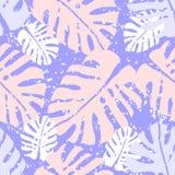 Monstera tropical ilustración del vector