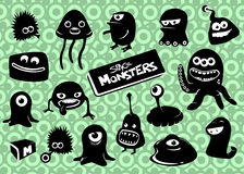 monsteravstånd Royaltyfri Bild